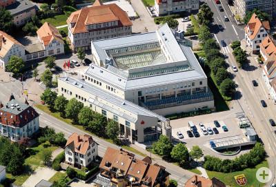 Kreissparkasse Freudenstadt - Luftbild