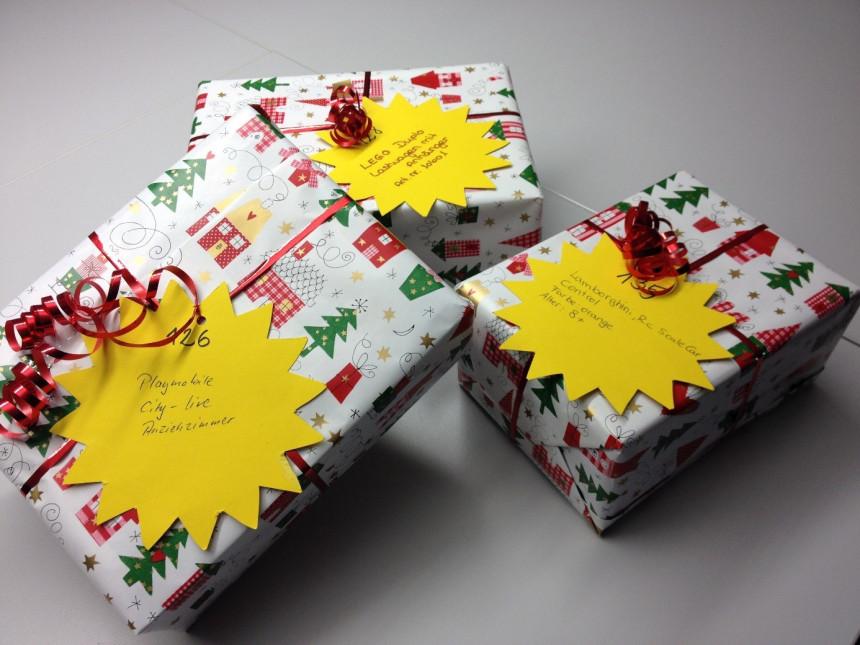 Weihnachtssterne Geschenke